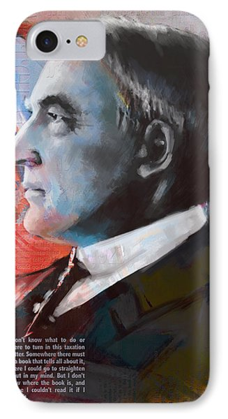 Warren G. Harding IPhone Case by Corporate Art Task Force