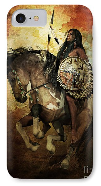 Warrior IPhone Case by Shanina Conway