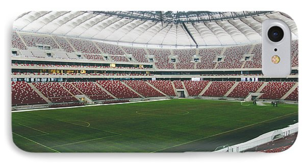 Warsaw Stadion Phone Case by Pati Photography