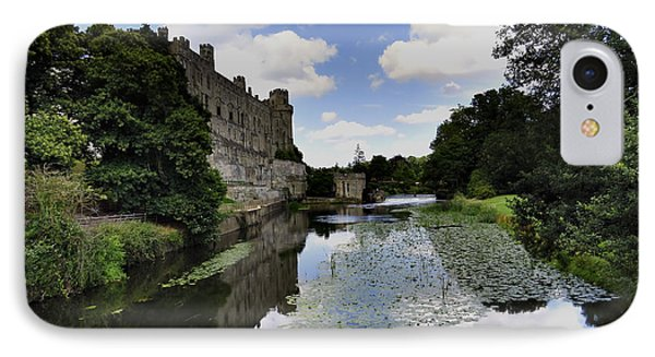 Warwick Castle IPhone Case by Ron Grafe