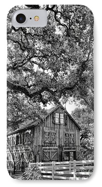 Was He Raised In A Barn? IPhone Case by Delilah Downs