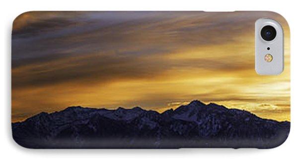 Dawn iPhone 7 Case - Wasatch Dawn by Chad Dutson