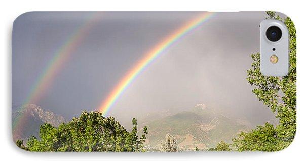 Wasatch Rainbow IPhone Case