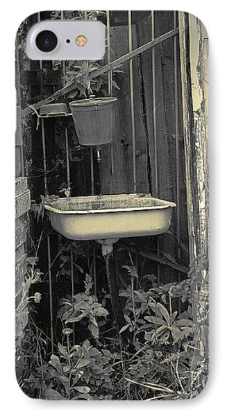 IPhone Case featuring the pyrography Wash Basin by Evgeniy Lankin