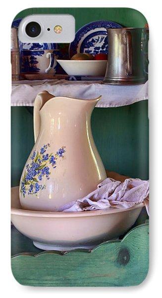Wash Basin Still Life Phone Case by Nikolyn McDonald