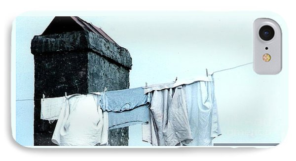 IPhone Case featuring the photograph Wash Day Blues In New Orleans Louisiana by Michael Hoard