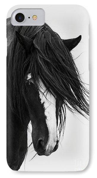 Horse iPhone 7 Case - Washakie's Portrait by Carol Walker