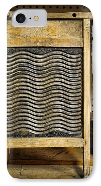 Washboard  IPhone Case by Lee Dos Santos