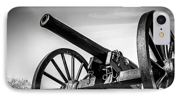 Washington Artillery Park Cannon In New Orleans Phone Case by Paul Velgos