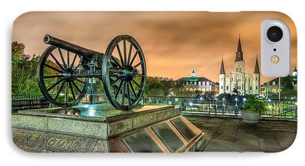 Washington Artillery Park IPhone Case
