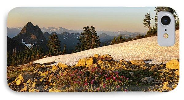 Washington, Cascade Mountains, Mount IPhone Case by Matt Freedman