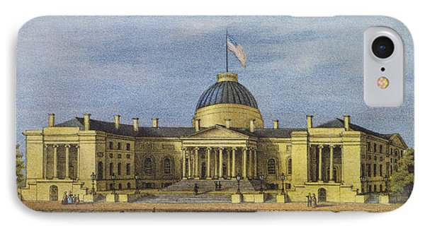 Washington City Hall Circa 1866 IPhone Case by Aged Pixel