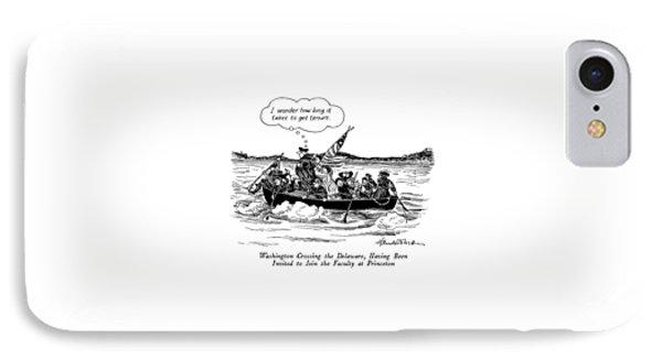 Washington Crossing The Delaware IPhone Case by J.B. Handelsman