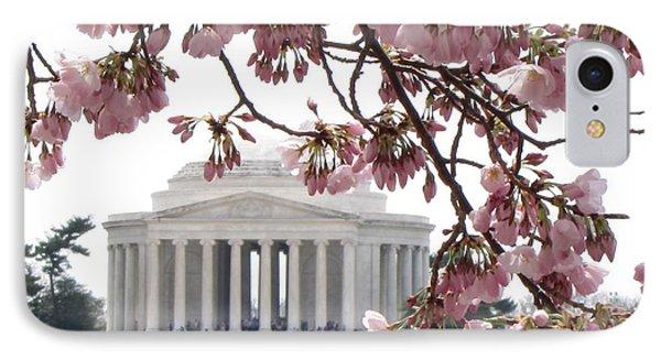Washington Dc In Bloom IPhone Case by Jennifer Wheatley Wolf