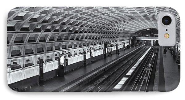 Washington Dc Metro Station I IPhone Case by Clarence Holmes
