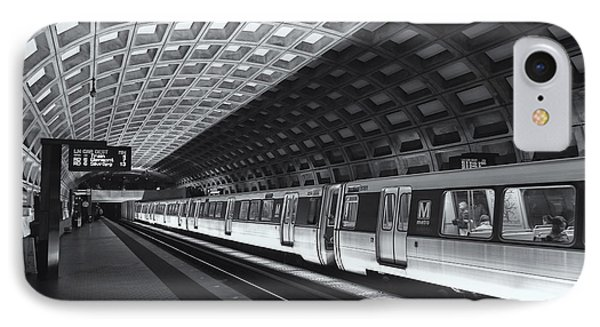 Washington Dc Metro Station Iv IPhone Case by Clarence Holmes