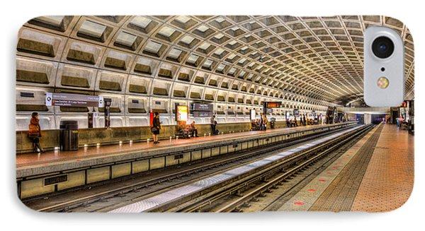 Washington Dc Metro Station Ix IPhone Case by Clarence Holmes