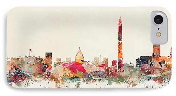 Washington Dc Skyline IPhone Case by Bri B
