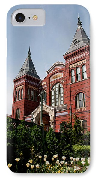 Washington Dc, Smithsonian Headquarters IPhone Case