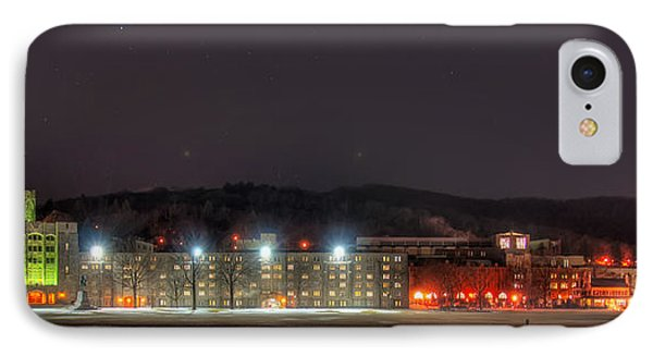 Washington Hall At Night IPhone Case by Dan McManus