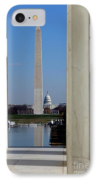 Washington Landmarks IPhone 7 Case by Olivier Le Queinec