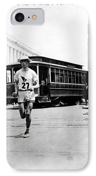 Washington Marathon, 1911 IPhone Case by Granger