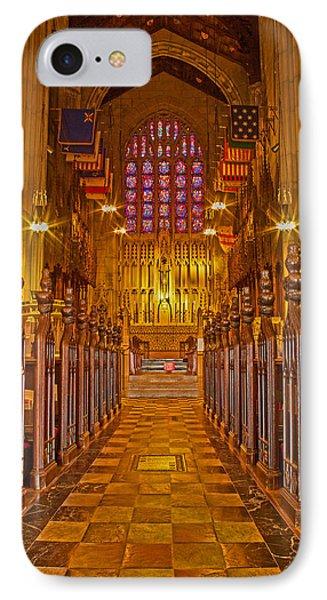 Washington Memorial Chapel Altar IPhone Case