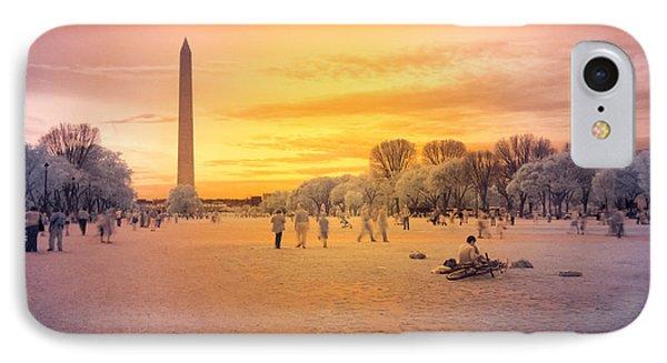 Washington Memorial IPhone Case by Jonas Luis