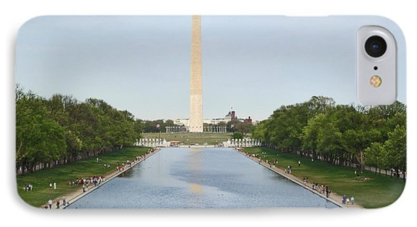 IPhone Case featuring the photograph Washington Monument 1 by Tom Doud