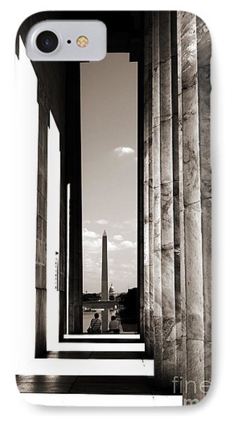 IPhone Case featuring the photograph Washington Monument by Angela DeFrias