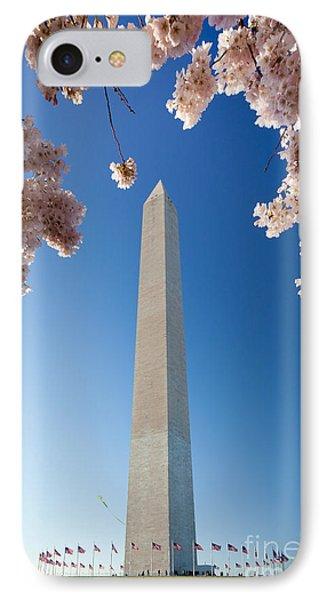 Washington Monument Phone Case by Inge Johnsson