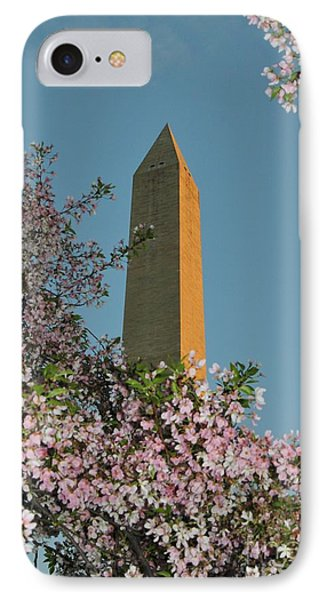 Washington Monument IPhone Case by Laurie Tracy