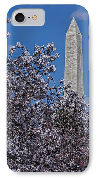 Washington Monument IPhone Case by Susan Candelario