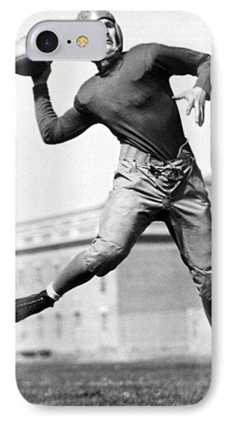 Washington State Quarterback IPhone Case by Underwood Archives