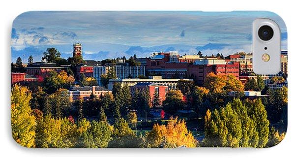 Washington State University In Autumn Phone Case by David Patterson