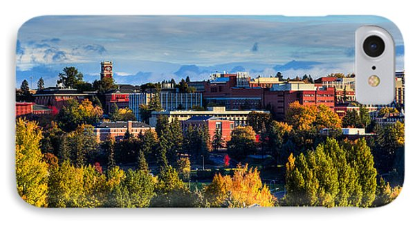 Washington State University In Autumn IPhone Case