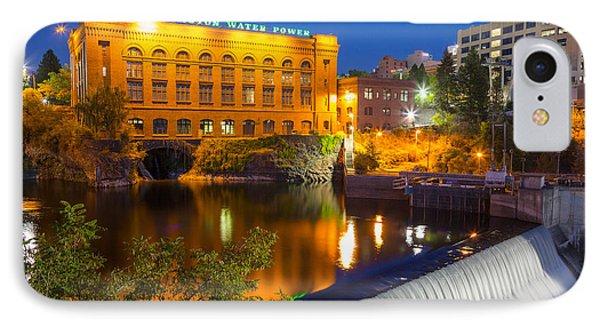 Washington Water Power IPhone Case by Inge Johnsson