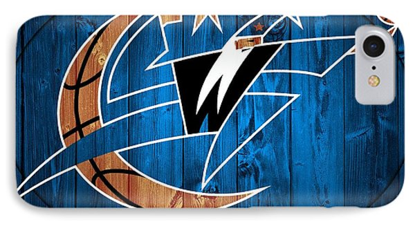 Washington Wizards Barn Door IPhone Case by Dan Sproul