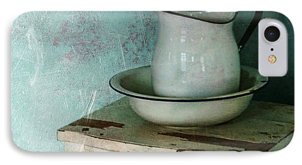 Washstand Still Life IPhone Case by Nikolyn McDonald