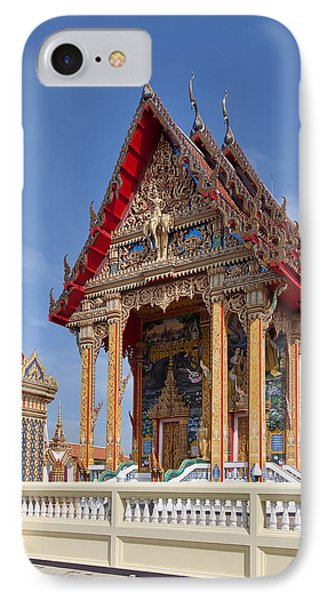 IPhone Case featuring the photograph Wat Choeng Thalay Ordination Hall Dthp138 by Gerry Gantt