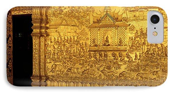 Wat Mai Luang Prabang Laos IPhone Case