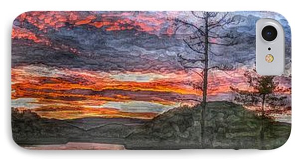Watauga Lake Sunset IPhone Case