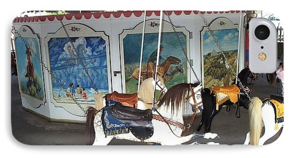 IPhone Case featuring the photograph Watch Hill Merry Go Round by Barbara McDevitt