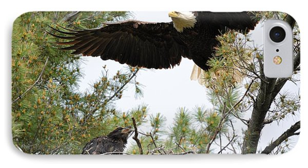 Watch Out Below IPhone Case by Bonfire Photography