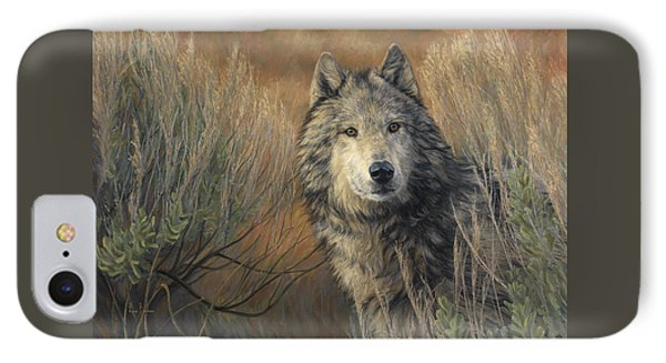 Watchful IPhone Case by Lucie Bilodeau
