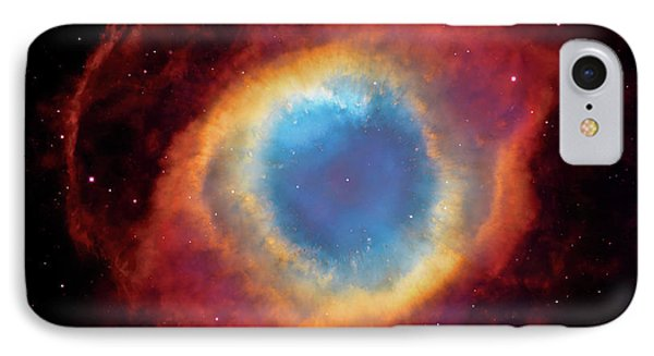 Watching - Helix Nebula IPhone Case by Jennifer Rondinelli Reilly - Fine Art Photography