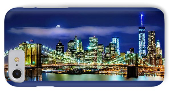 Watching Over New York IPhone Case