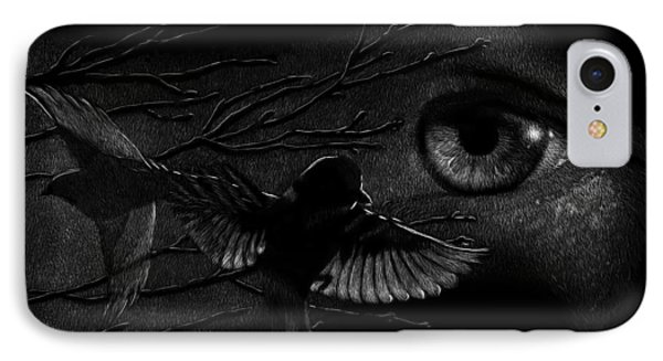 Watching Over Sparrows IPhone Case