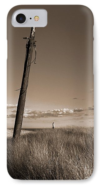 Watching Over The Sea King IPhone Case by Mark Miller