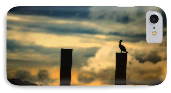 Watching The Sunrise Phone Case by Karol Livote